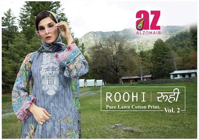 Alzohaib-Roohi-Vol-2-Pure-Lawn-Cotton-Print-1