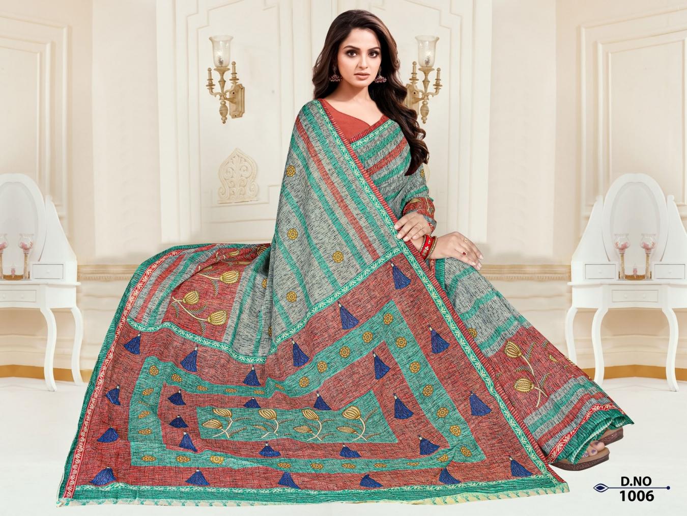 Anushree-Archana-Cotton-Saree-10