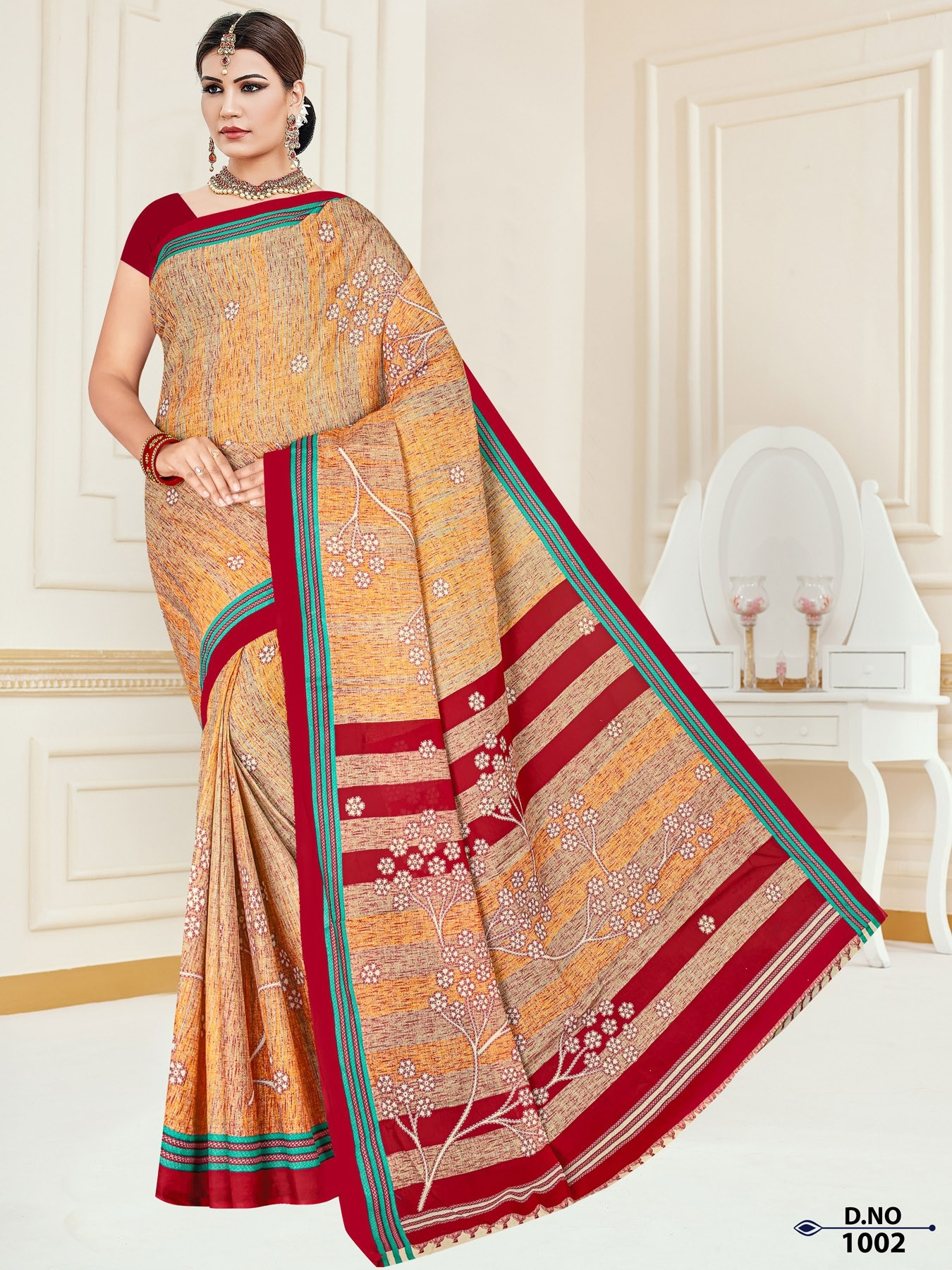 Anushree-Archana-Cotton-Saree-2