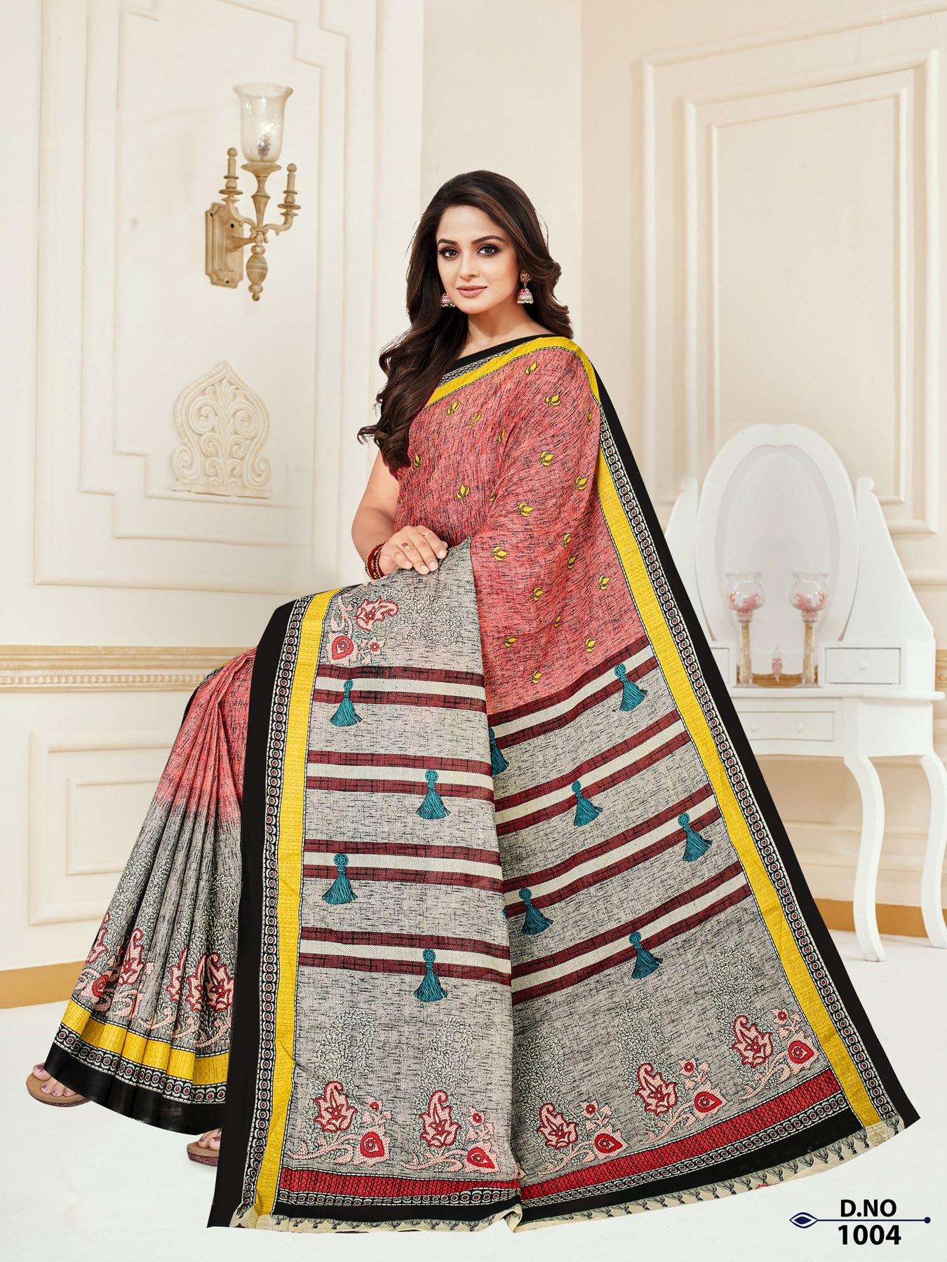 Anushree-Archana-Cotton-Saree-4