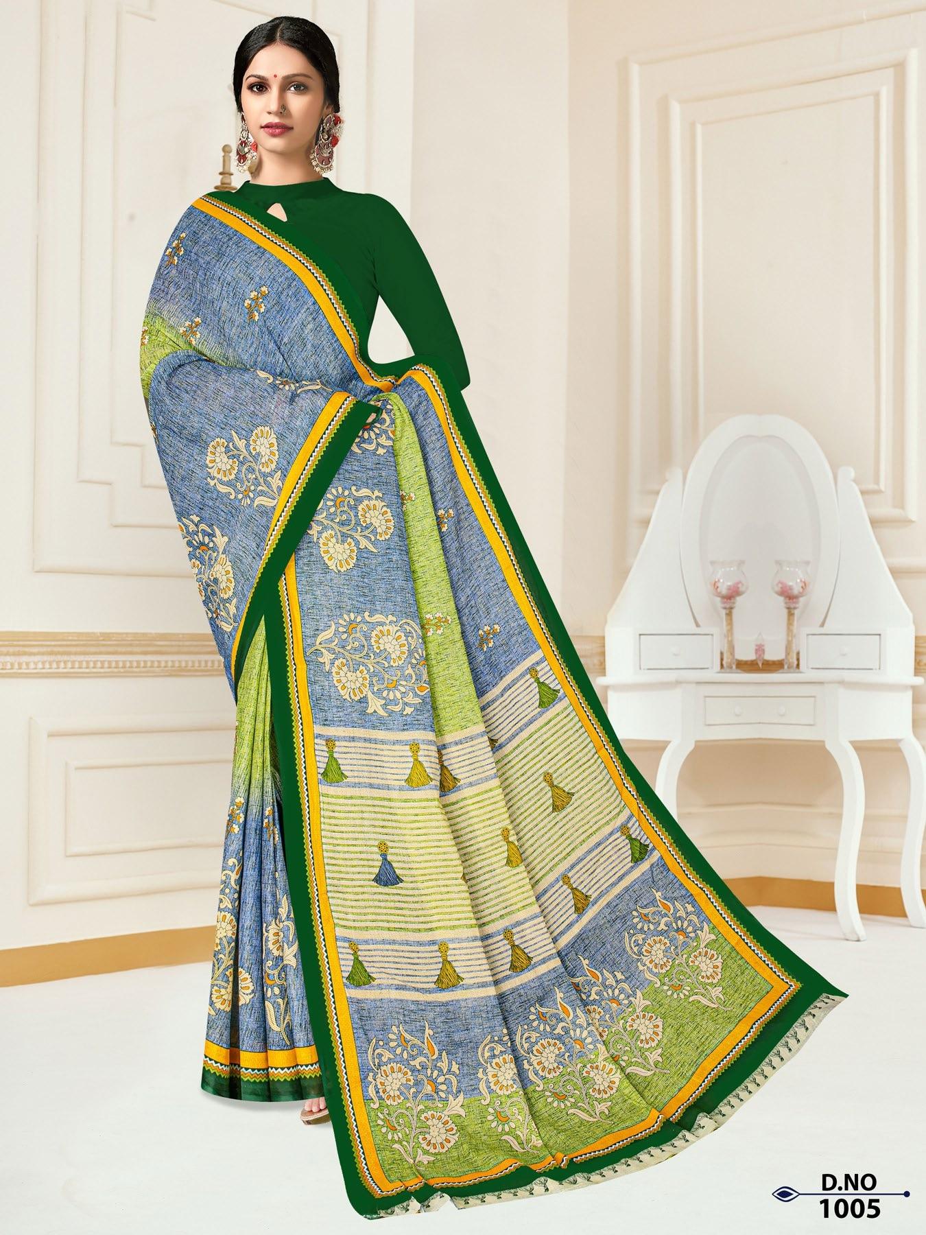Anushree-Archana-Cotton-Saree-5