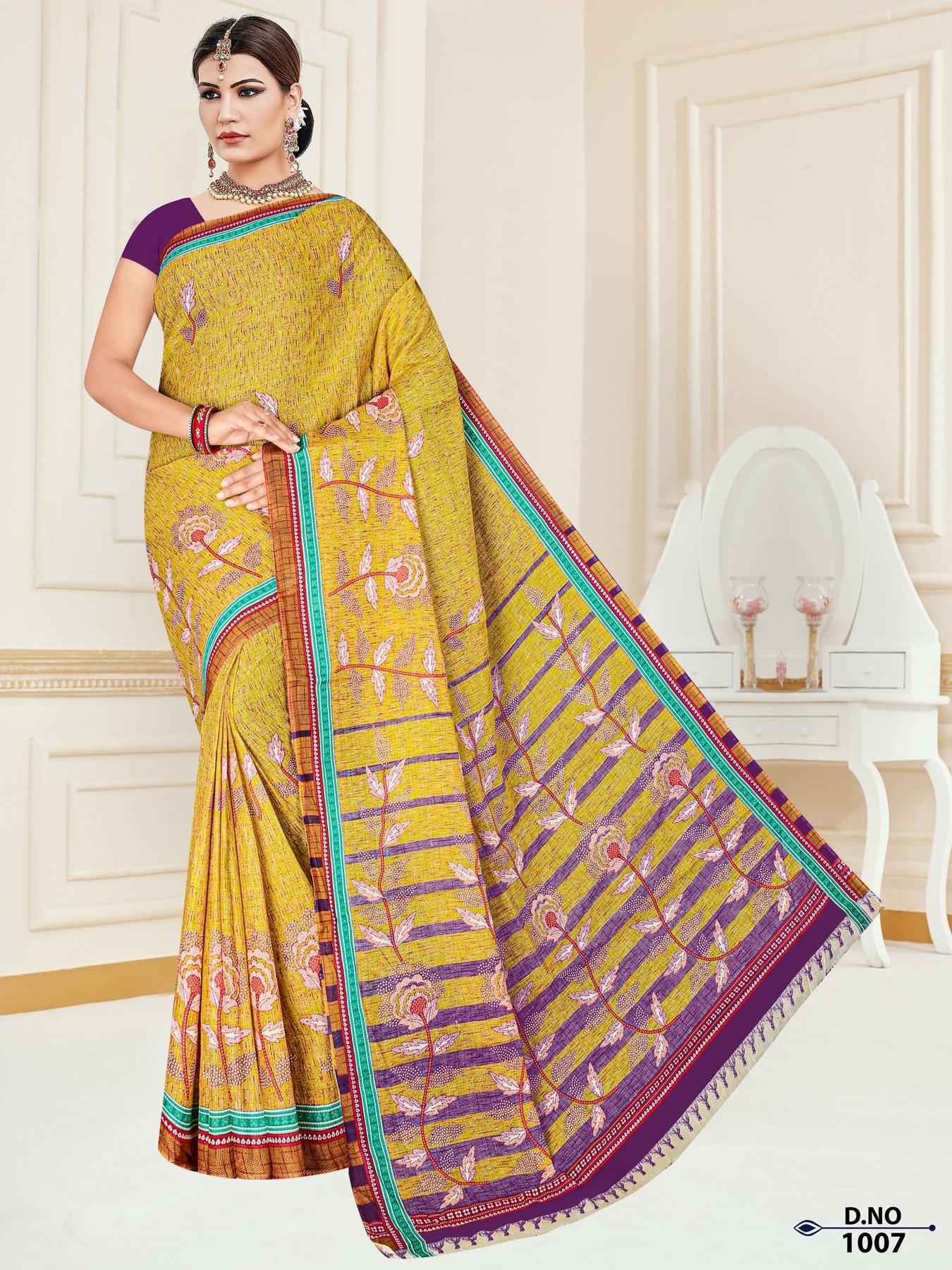 Anushree-Archana-Cotton-Saree-6