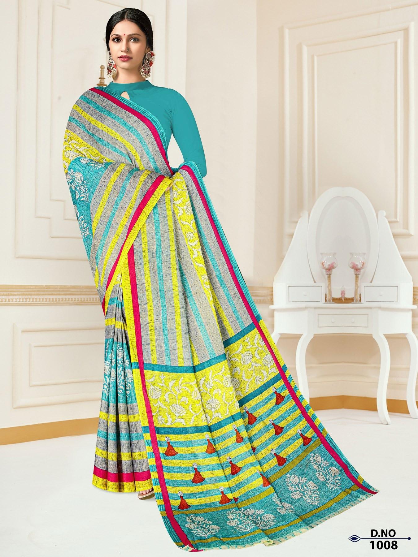 Anushree-Archana-Cotton-Saree-7