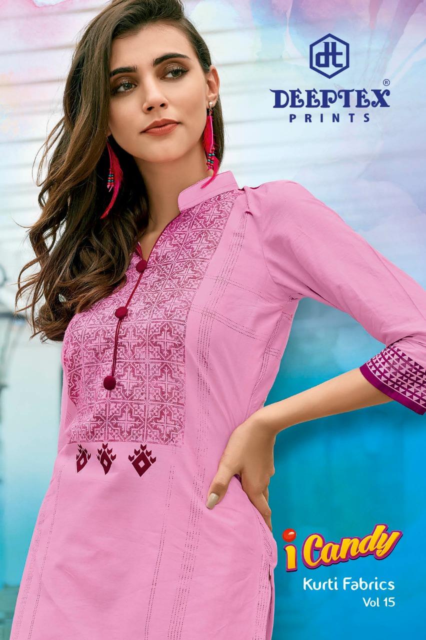 65f62c4012 Deeptex I-Candy Kurti Fabrics vol 15 - MNF