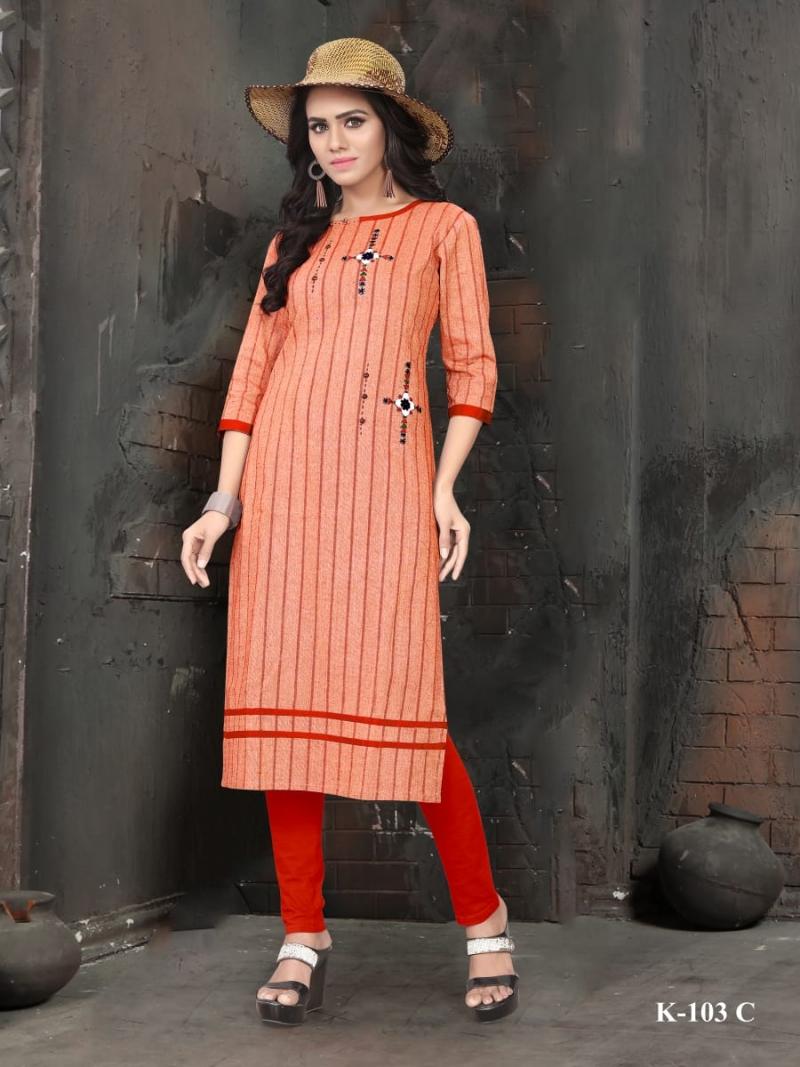 Fashion Fiesta Design no K 103 - Single Design 4 Color (1)