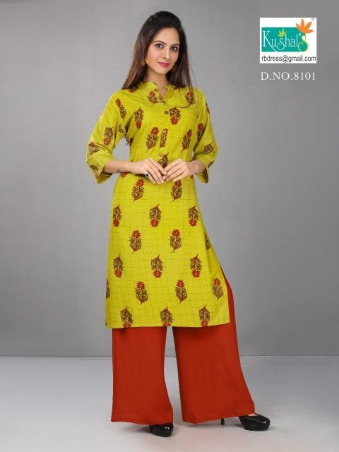 Kushal-Anshika-Vol-1-Kurti-With-Plazzo-1
