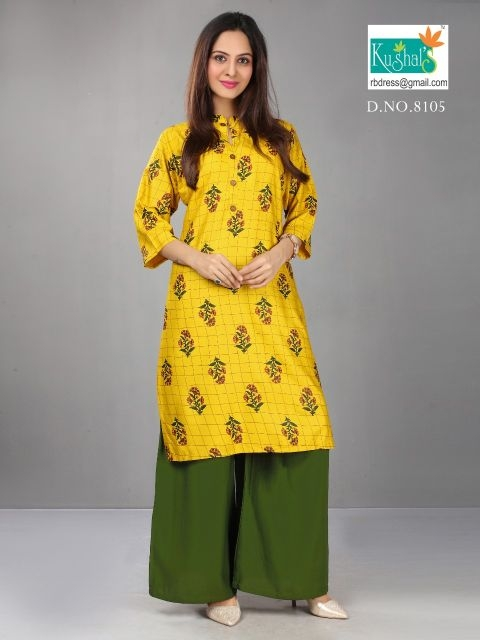 Kushal-Anshika-Vol-1-Kurti-With-Plazzo-2