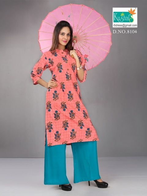 Kushal-Anshika-Vol-1-Kurti-With-Plazzo-4