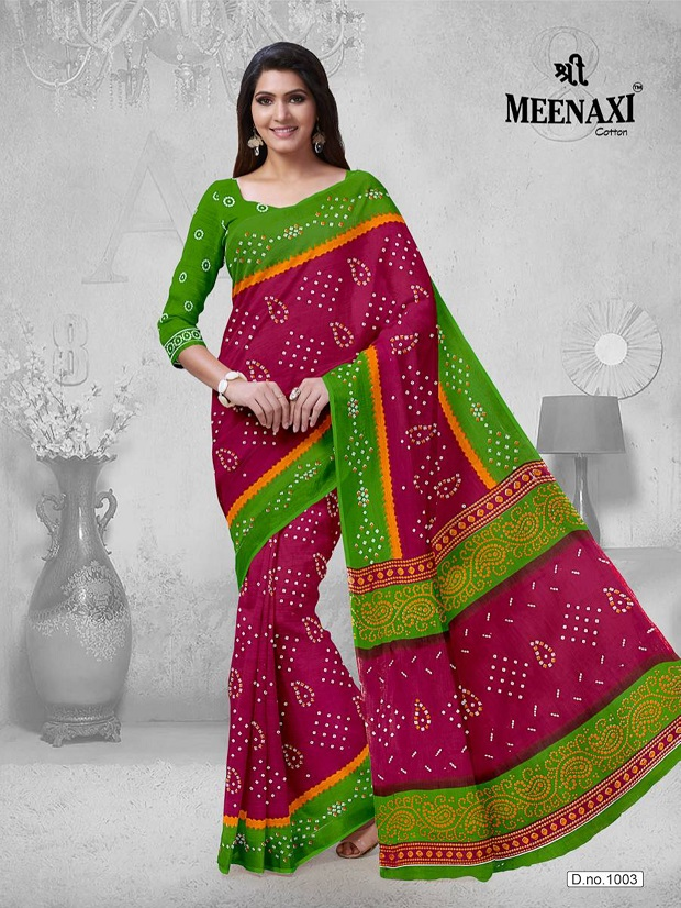 Meenaxi-Bandhani-Cotton-Sarees-4