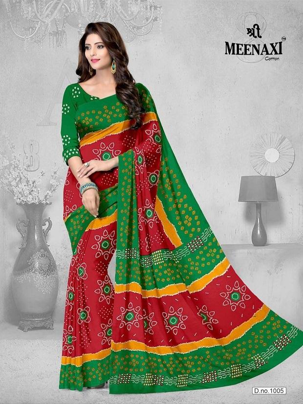 Meenaxi-Bandhani-Cotton-Sarees-6