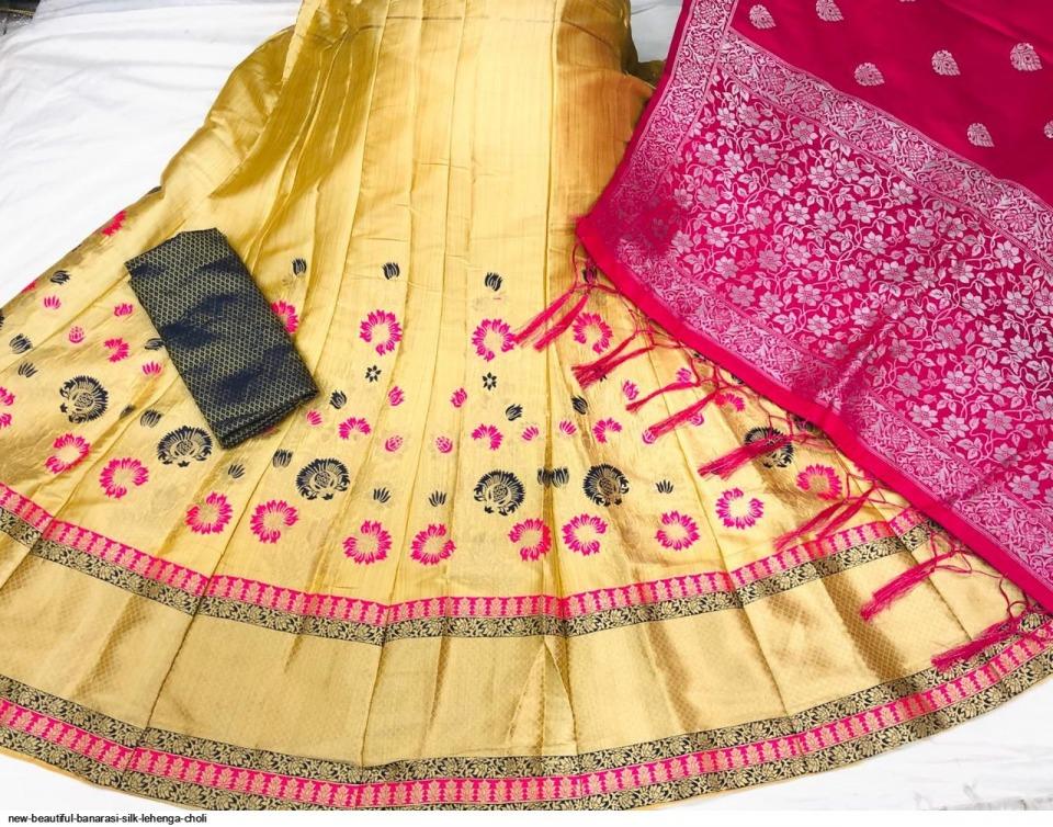 new-beautiful-banarasi-silk-lehenga-choli-2542