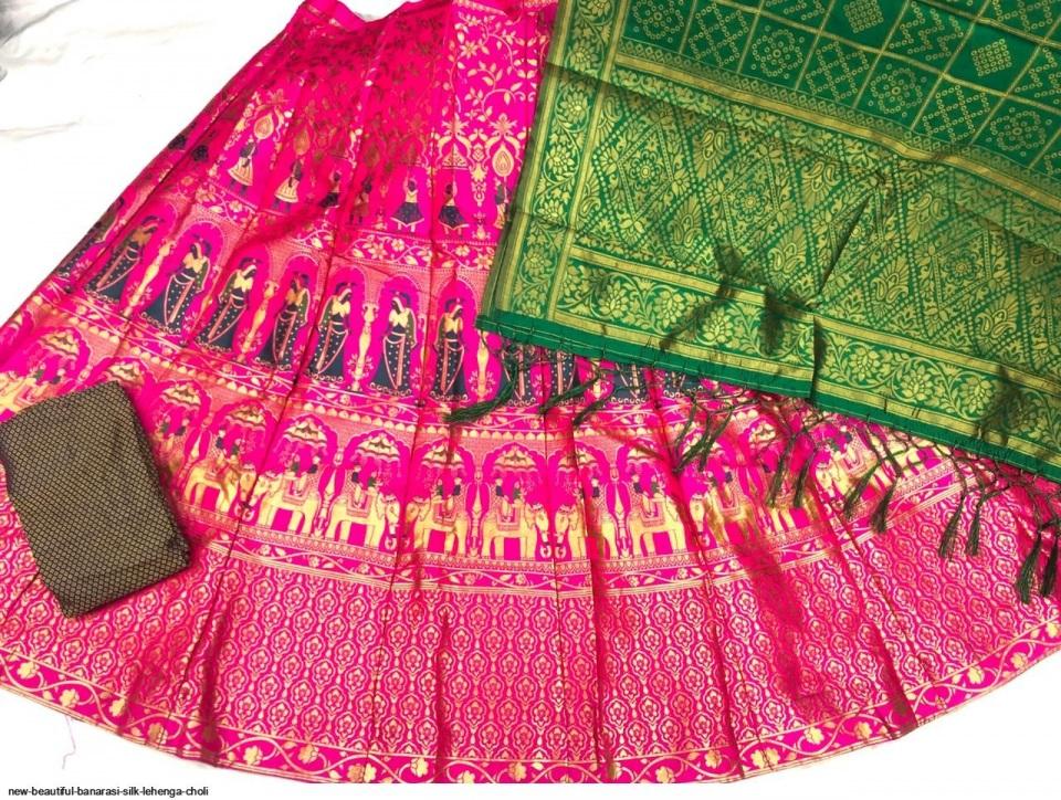 new-beautiful-banarasi-silk-lehenga-choli-3380