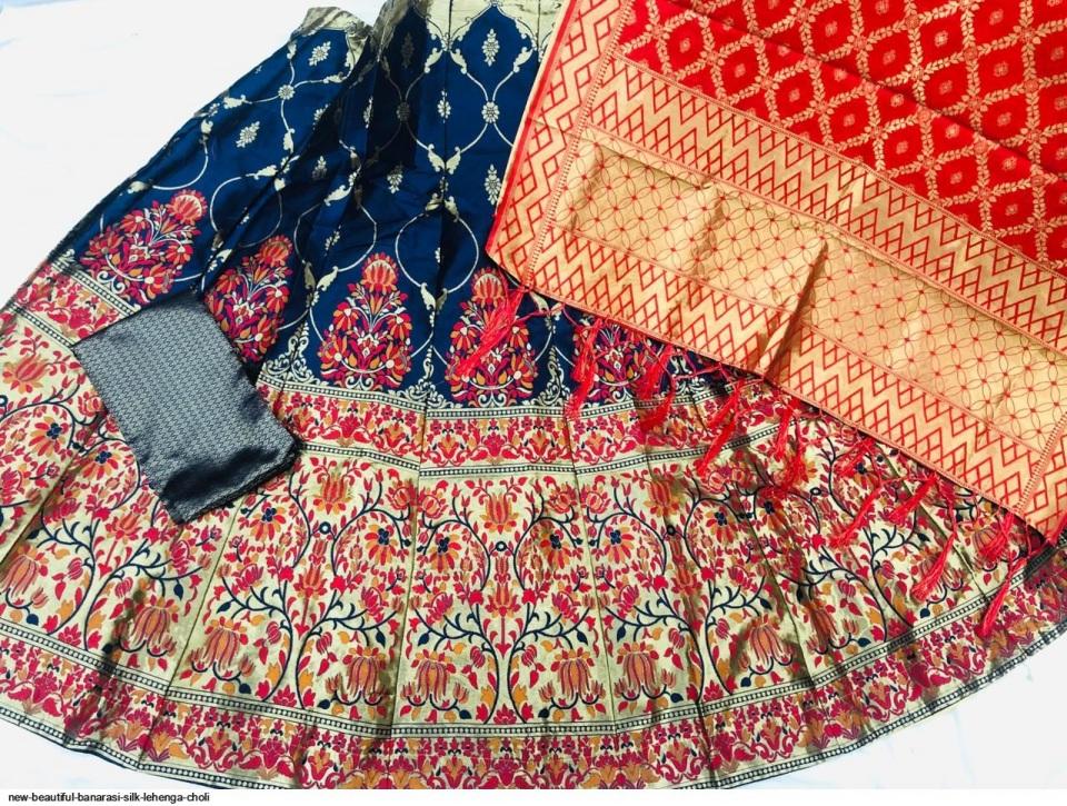new-beautiful-banarasi-silk-lehenga-choli-4636