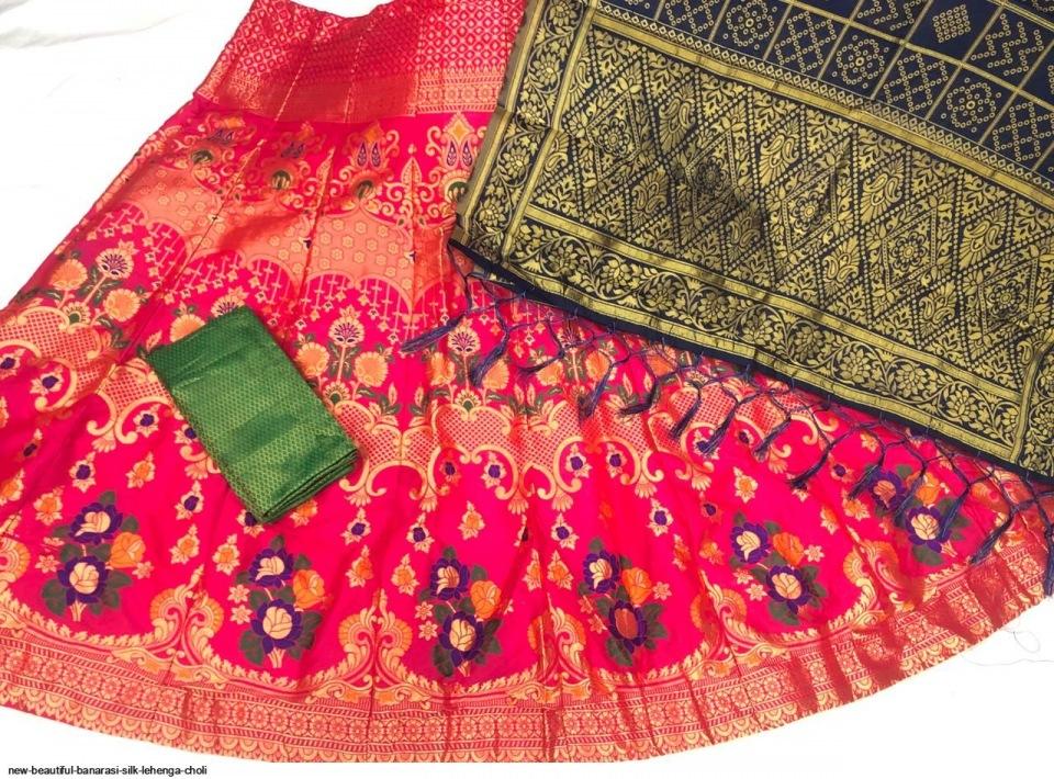 new-beautiful-banarasi-silk-lehenga-choli-6666