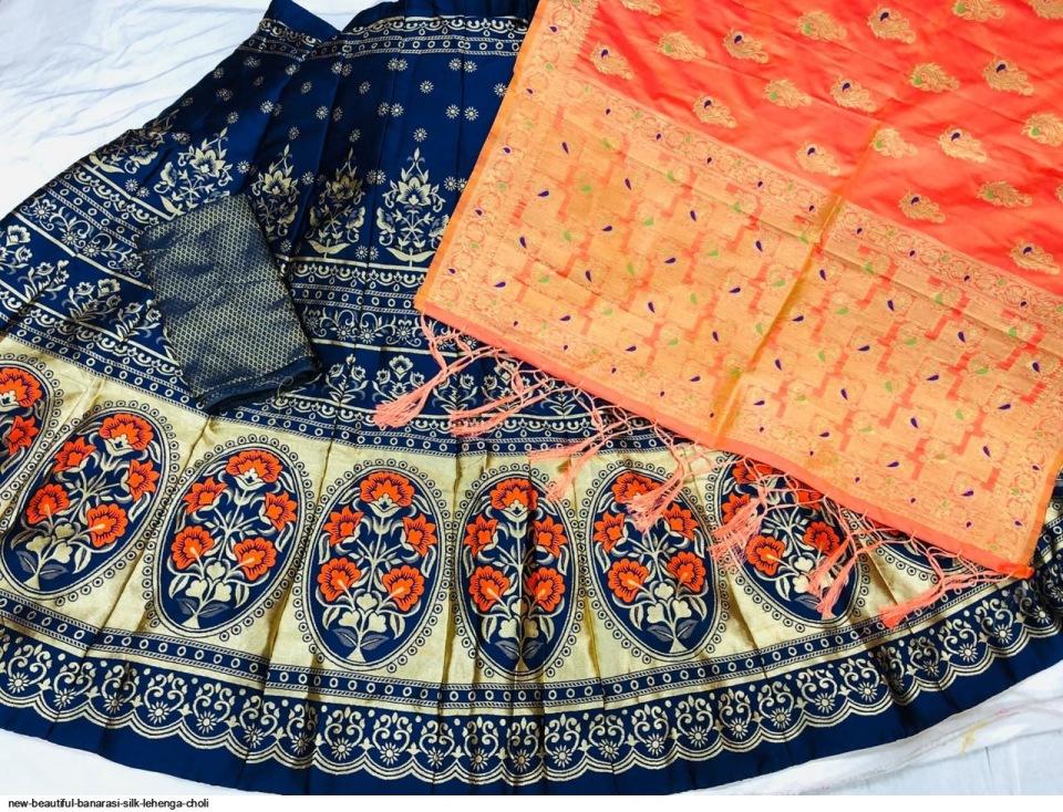 new-beautiful-banarasi-silk-lehenga-choli-7140