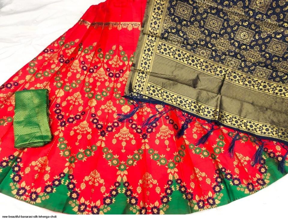 new-beautiful-banarasi-silk-lehenga-choli-8975