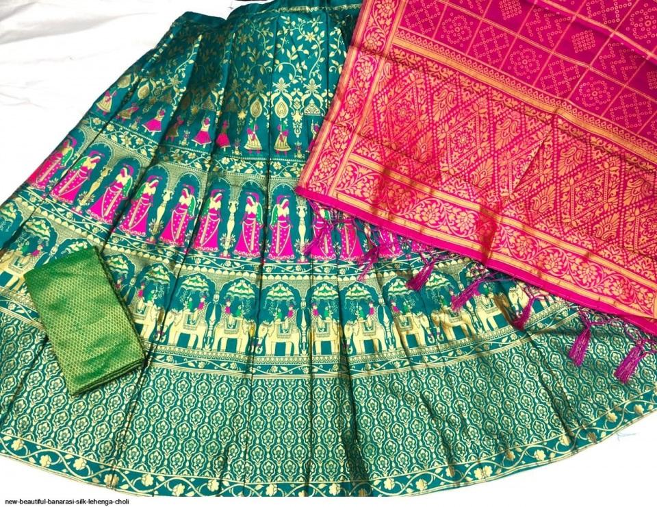 new-beautiful-banarasi-silk-lehenga-choli-9068