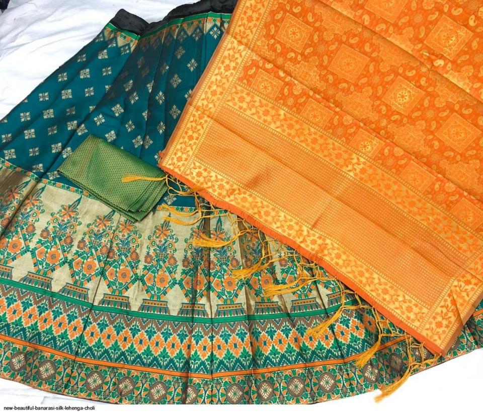 new-beautiful-banarasi-silk-lehenga-choli-9300