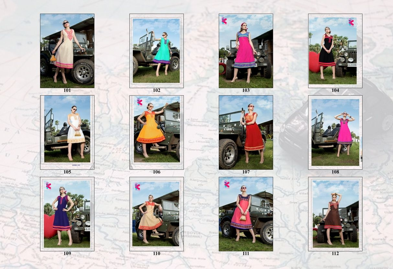 Presenting latest collections of Kersom Kohra Kora Silk Kurtis (10)