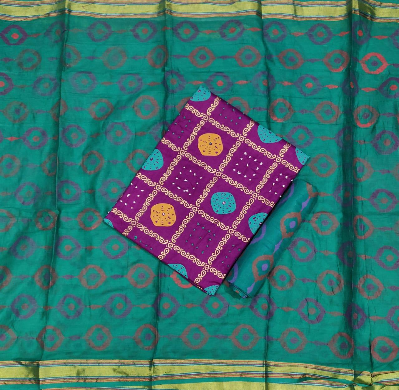 Sai-Satin-Gold-Check-Print-9