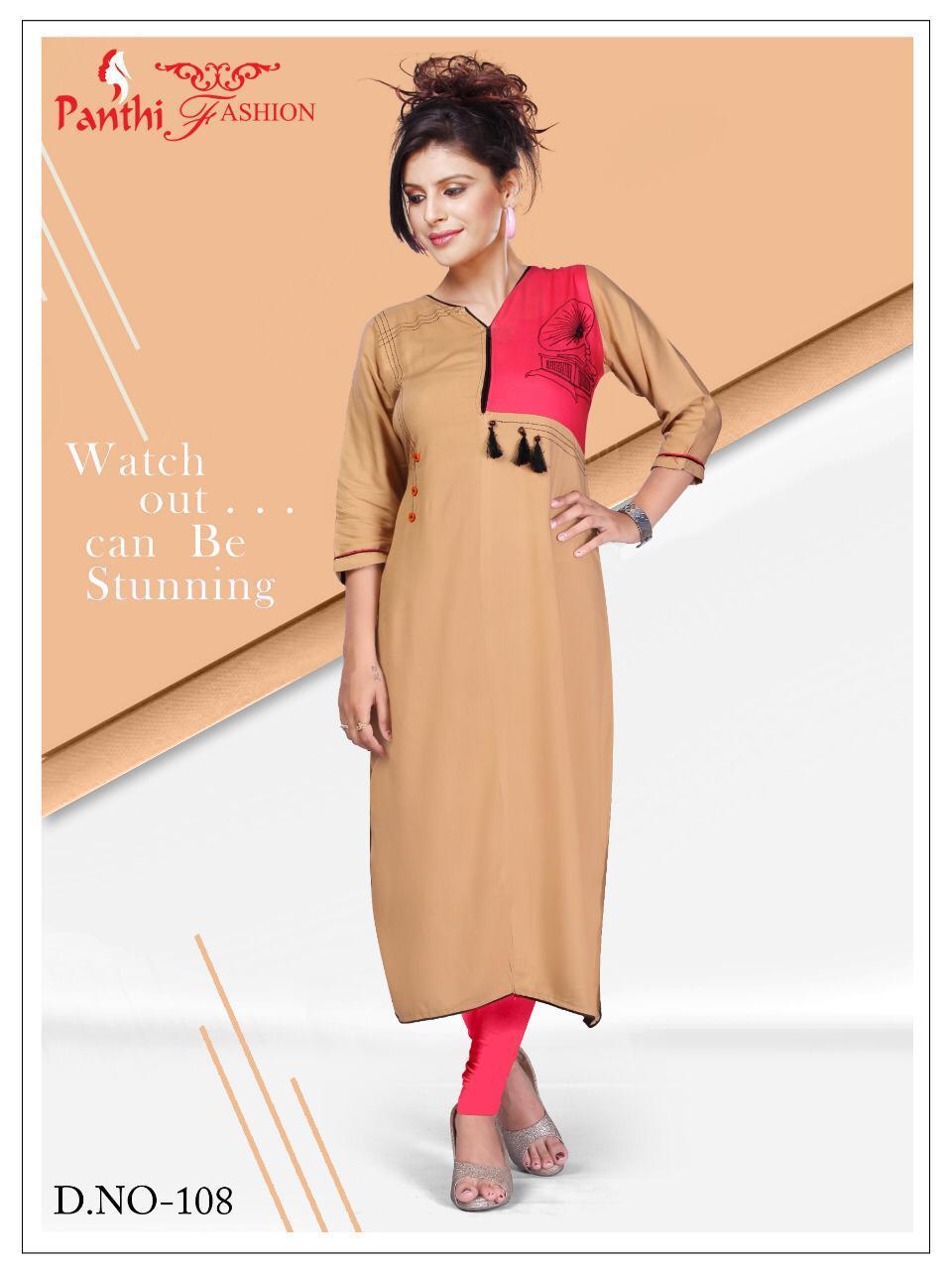 6da96b3eff Siyaji Panthi Fashion Arachi - Casual Wear Kurti - MNF