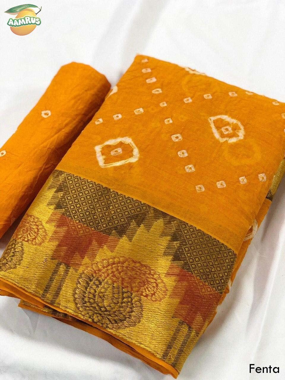 Ssm-Aamrus-Pure-Cotton-Saree-2